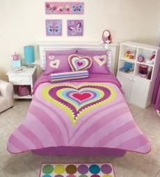 Comprar Ropa de cama para los infantil Edredón Corazón