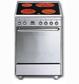 Comprar Cocina vitrocerámica, con cuatro hornillas y un horno eléctrico multifunció SCB66MFX
