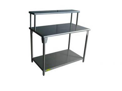 Equipo de cocina mesa de trabajo con servidor y entrepa o - Mesas de trabajo para cocina ...