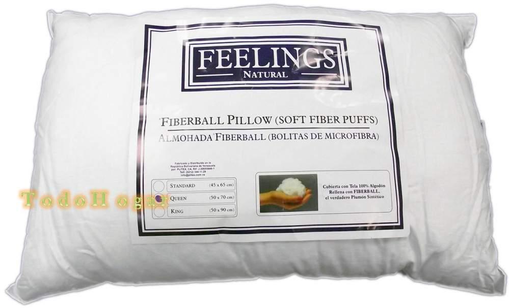 Comprar Almohada Feelings natural fiberbal Queen (50x70cm)