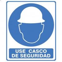 Señal Use Casco