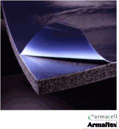 Aislamiento de espuma elastomérica flexible para tuberías