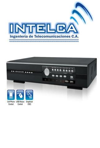 Comprar Equipos para sistemas de videovigilancia, DVR para 4 camaras