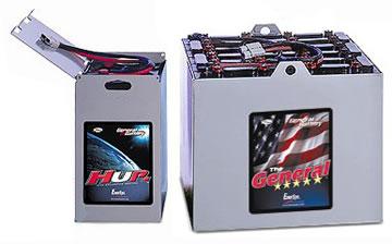 Comprar Baterías de tracción para carretillas elevadoras, General Battery
