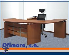 Comprar Muebles de oficina, Escritorio gerencial línea rudni