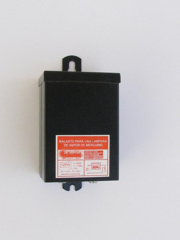 Balasto para Lámparas de Vapor de Mercurio tipo Reactor Abierto