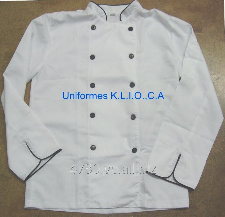 Comprar Chaqueta de Chef Blanca para Uniforme
