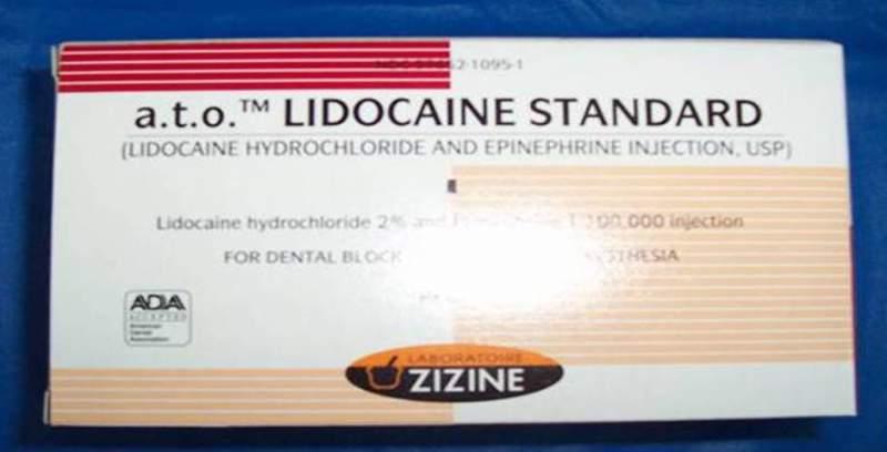 Comprar Lidocaina
