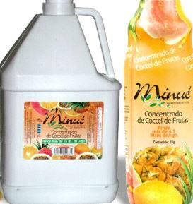 Comprar Concentrado Coctail de frutas