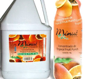Comprar Zumo tropical punch