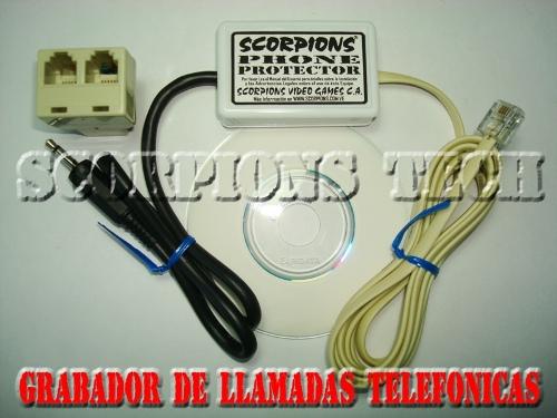 Comprar Grabadora de Llamadas Telefonicas Por Computadora. Espia Telefonico. Grabador Telefonico CANTV.