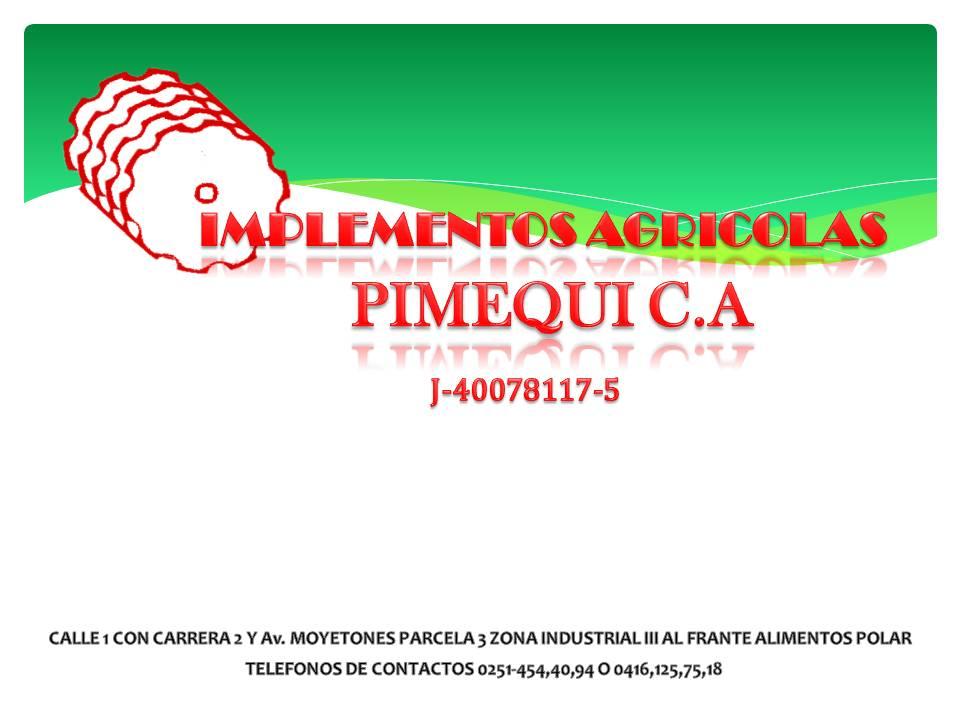Comprar VENTAS DE IMPLEMETOS AGRICOLAS PIMEQUI C.A