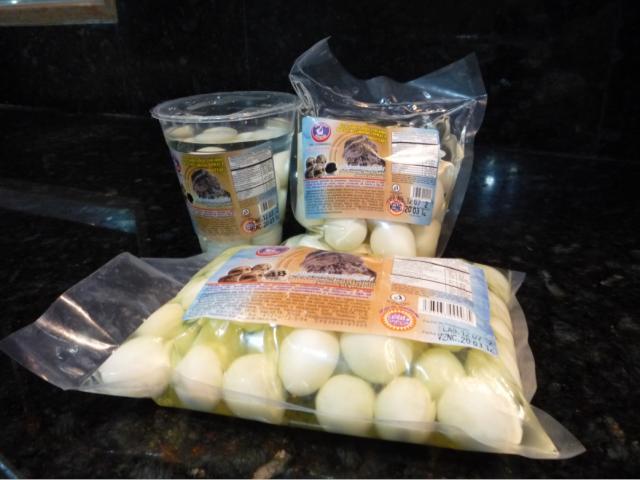 Comprar Huevos de Codorniz Pelados