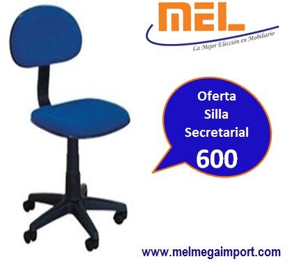Comprar Oferta en Silla Secretarial