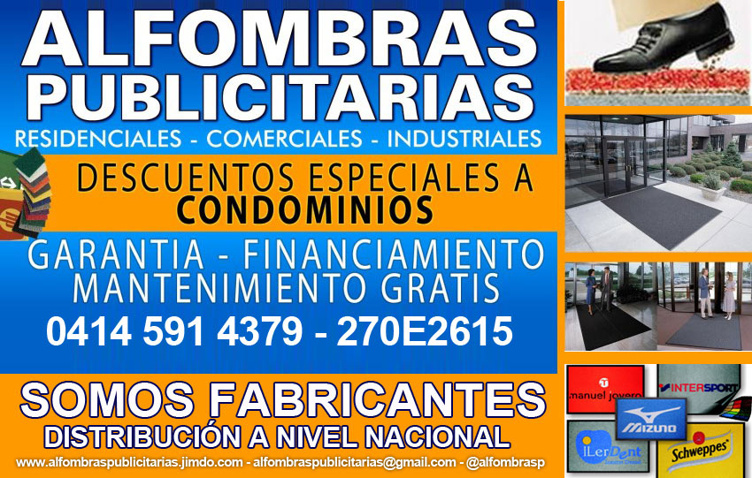 Comprar ALFOMBRAS PUBLICITARIAS Y CORPORATIVAS