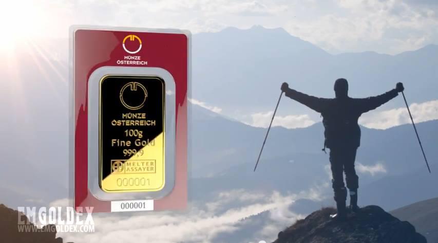 Comprar Oro puro de 99.9%