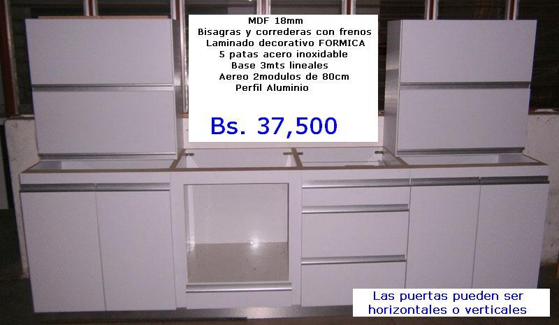 Cocinas modulares comprar en Guanare