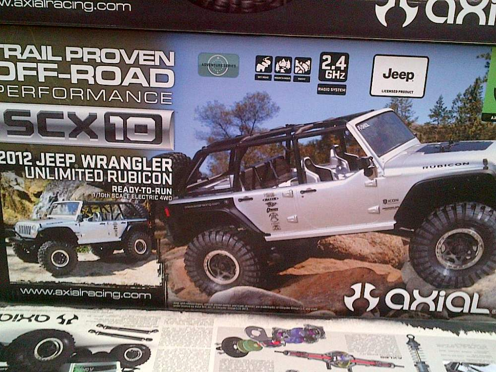 AXIAL RUBICON CARRO RADIO CONTROL