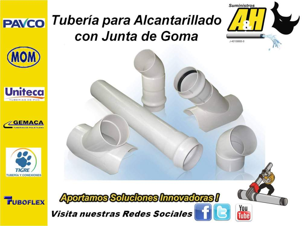 Comprar Tubo de PVC Alcantarillado PAVCO UNITECA