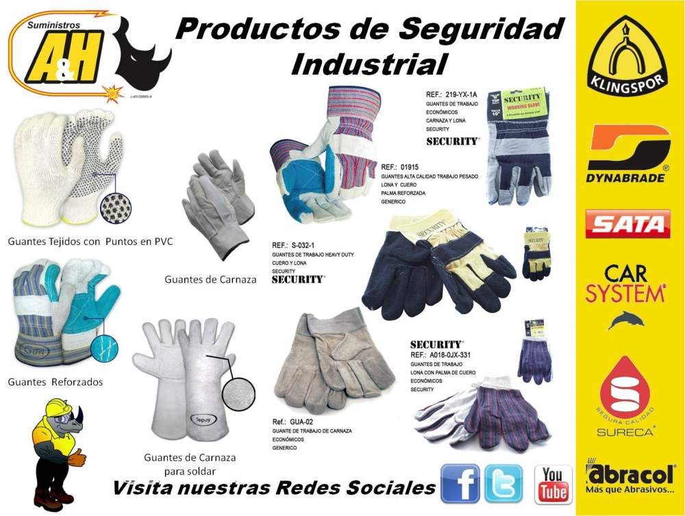 Comprar Productos de Seguridad Industrial