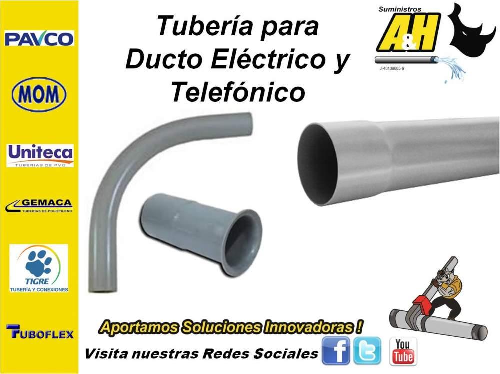 Comprar Ducto Electrico y Telefonico en PVC PAVCO UNITECA