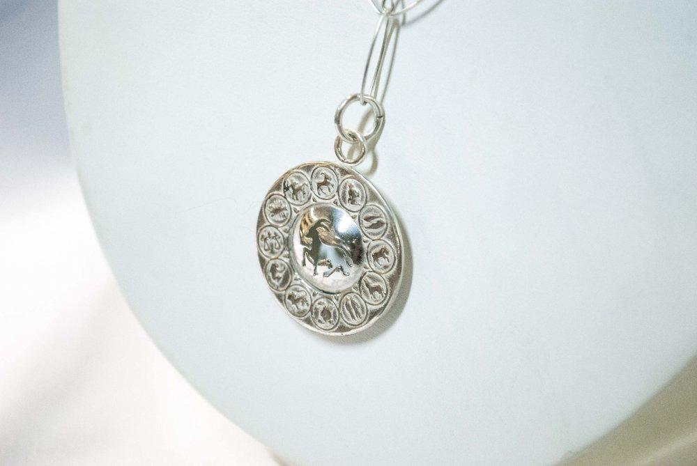 Comprar Collares con piedras semipreciosas en plata escoja su signo zodiacal