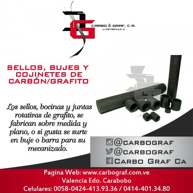 Comprar SELLOS, BUJES Y COJINETES DE CARBÓN/GRAFITO:
