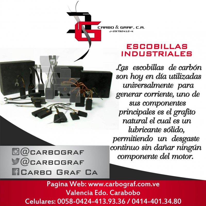 Comprar ESCOBILLAS INDUSTRIALES: