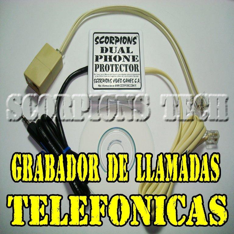 Comprar Grabador Telefonico Para 2 Lineas. Grabadora Para Centrales Telefonicas. Monitoreo Telefonos Linea CANTV.