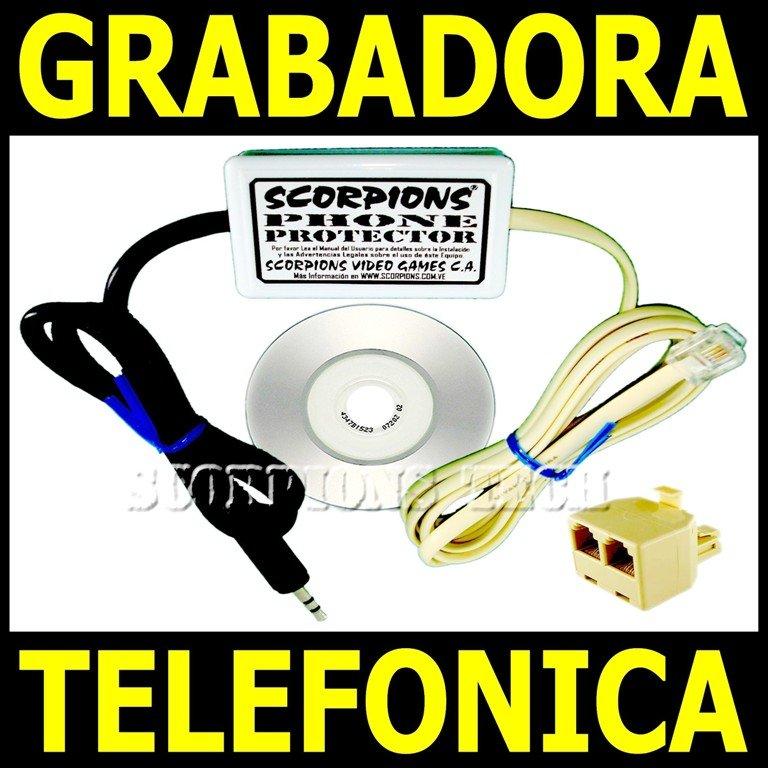 Comprar Grabador Telefonico. Grabadora de Llamadas. Espia Telefonico Por Computadora. Telefonos Linea CANTV.