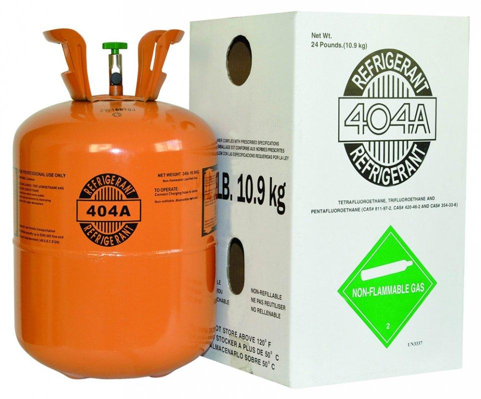 Comprar GAS REFRIGERANTE 404a