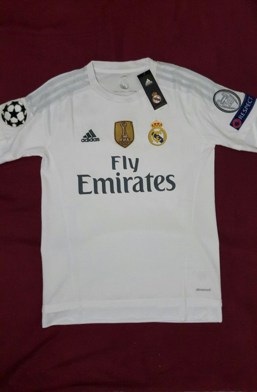 Camiseta Oficial Local 2016 del Real Madrid