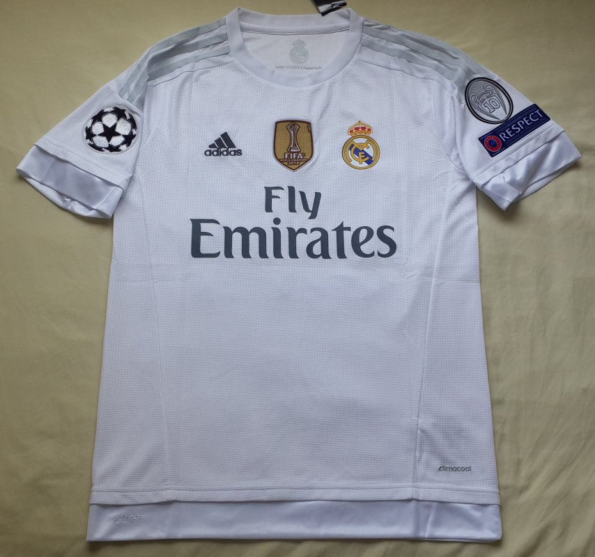 Comprar Camisetas Oficiales de Futbol Europeo 2015 2016 Real Madrid, Barcelona, PSG, Bayern, Juventus
