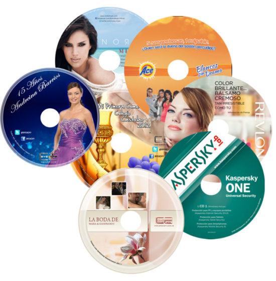Comprar  Impresión, copiado (Audio, Data, Imagenes y Videos) sobre CD y DVD y Bluray, Termosellado y Copiado Masivo de Pendrive SD y Micro SD