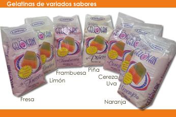 Comprar Gelatinas de Variados sabores