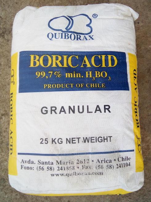 Comprar Acido borico