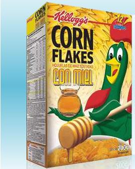 Comprar Cereales con miel