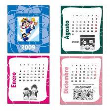 Comprar Calendario de Bolsillo