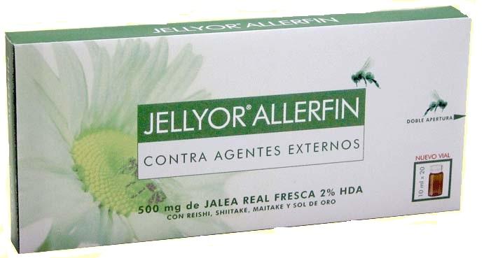 Comprar Eladiet Jellyor Allerfin (Ayuda contra las Alergias) 20 ampollas