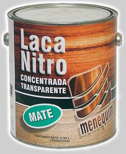Comprar Laca Nitro Concentrada Transparente Mate