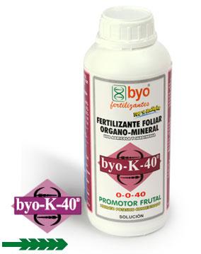 Comprar Estimulante fruta Byo-K-40
