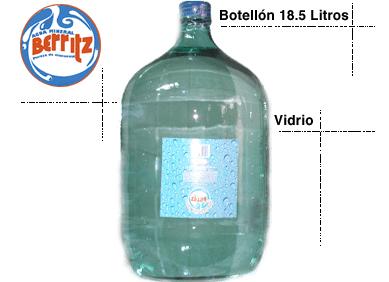 Comprar Agua mineral, botelon 18,5 litros