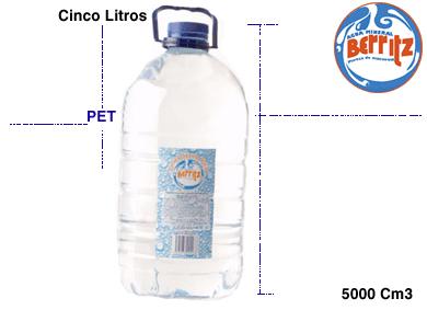 Comprar Agua mineral, cinco litros