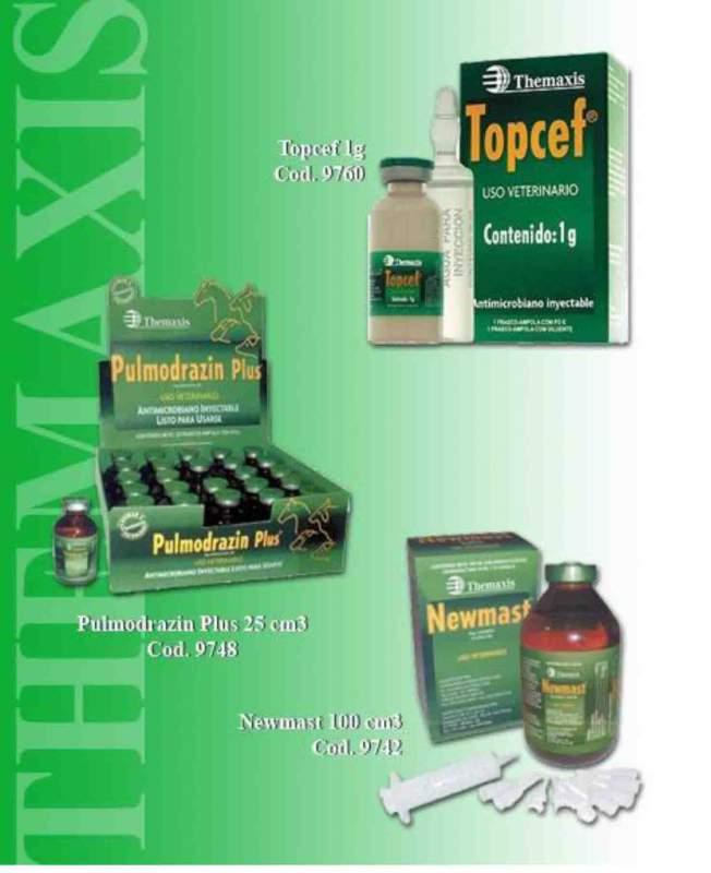 Antibióticos de uso veterinario, Pulmodrazin