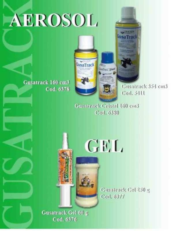 Medicamentos de uso veterinario, Gusa Track Gel