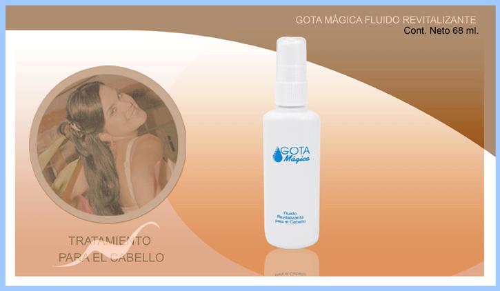 Productos profesionales para el cuidado del cabello, Gota