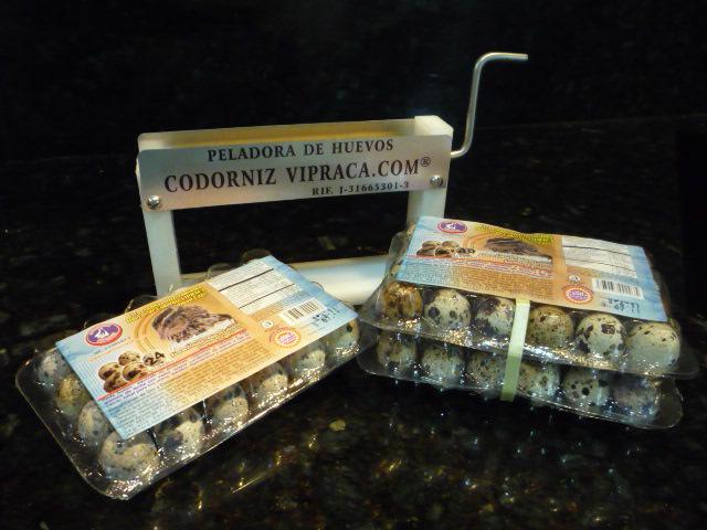Comprar Huevos de Codorniz Peladora Vipraca