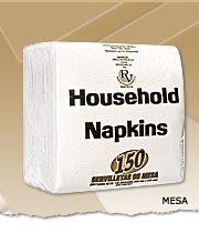 Servilletas de papel, Housenhold Napkins