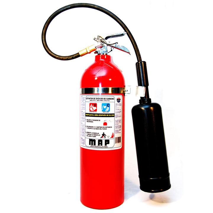 Comprar Extintores portaliles de dióxido de carbono (CO2)