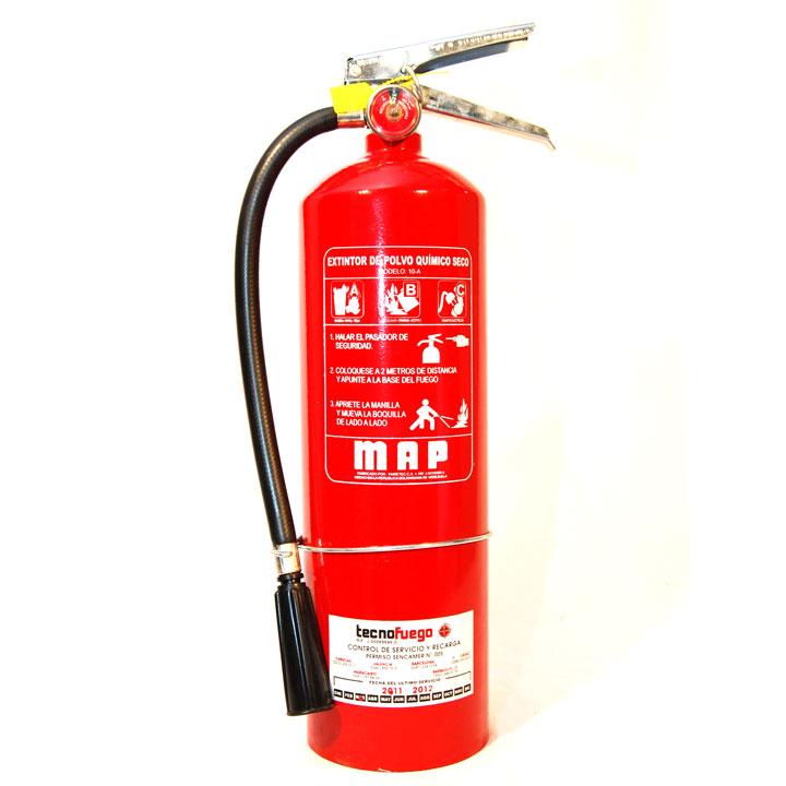 Comprar Extintores portaliles de polvo quimico seco